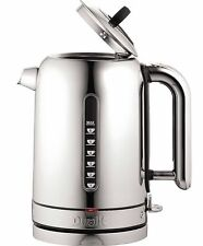 Dualit 72815 Classic Whisper Cordless Jug Kettle Polished Stainless Steel Black