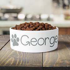 Personalised Name Small / Large Pet Bowl | Cat Dog Rabbit Animal Food Water
