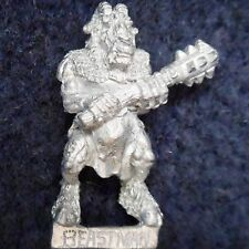 1989 Iron Claw Chaos Beastman Mace 6 Citadel Warhammer Beastmen Broo Brayherd GW