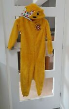 Pudsey Bear all Body Suit Age 9-10 Years