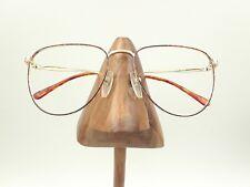 Vintage Cosmopolitan Tortoise Gold Metal Round Sunglasses Frames Japan