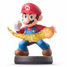 Nintendo Amiibo Fireball MARIO Super Smash Bros Wii U 3DS Switch USA Black Base