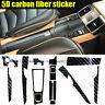 5D Carbon Fiber Pattern Car Interior Trim Decals For 2010-2018  Porsche Panamera