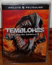 TEMBLORES 1-6 COLECCION COMPLETA 6 DVD NUEVO PRECINTADO TERROR (SIN ABRIR) R2