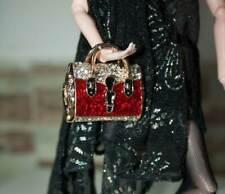 vestito barbie, accessori  borsa gioiello