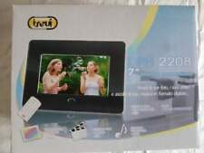 "Cornice fotografica digitale TREVI DPH 2208  7"" JPEG, MPEG4, AVI, MP3, WMA usato"