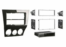 DOUBLE SINGLE DIN CAR STEREO DVD/CD PLAYER DASH MOUNTING KIT INSTALLATION TRIM