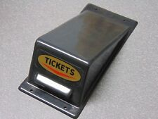 New Skee Ball Ticket Dispenser Cover with Ticket Decal. Rare. No Longer Made.