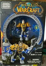 Mega Bloks World of Warcraft #91001 Colton 28 Pieces Building Toy Set Nib