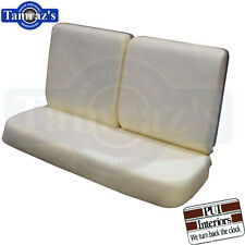 64-67 GM A Body Front Bench Seat Foam W/O Center Armrest PUI New