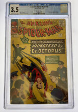 Amazing Spider-Man #12 CGC 3.5 OW/W pages Marvel Comics 1964 3rd app Doc Octopus