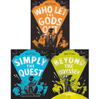 Maz Evans 3 Books Collection Set Who Let the Gods Out, Beyond the Odyssey NEW