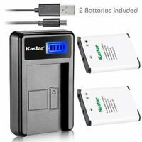 Kastar Battery and USB Charger for Nikon EN-EL19 Coolpix S32 S100 S6800 S7000
