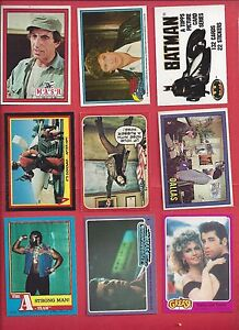 Finish your 1970's & 80's Non sports sets U- pick 6 Picks for $2.00 NM to Mint