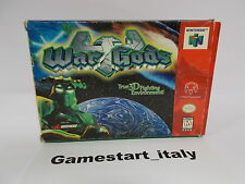WAR GODS - NINTENDO 64 N64 - NTSC VERSION - BOXED RARE