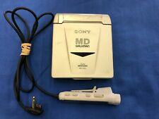 Sony Portable Minidisc Player Walkman Mz-E33 w/ remote Rm-Mze33 Tested and works