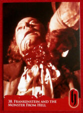 HAMMER HORROR - Series Two - FRANKENSTEIN AND THE MONSTER FROM HELL - Card #38