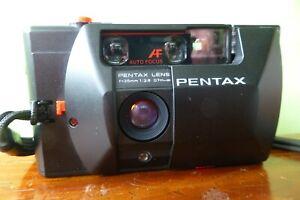 Uncommon Pentax PC35AF 35mm film camera. f/2.8 5-element prime lens - Working