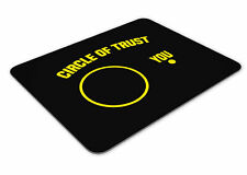 Circle Of Trust Mousemat Office Rectangle Mouse Mat Funny