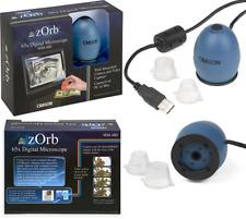 Carson Zorb USB Digital Zoom Integrated Camera Microscope Blue UK POST FREE