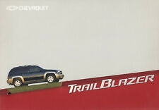 Chevrolet Trail Blazer presse Classeur media press kit Allemagne 2001 34