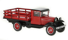 Ford AA Platform Truck Rouge - 1928  Whitebox 1/43