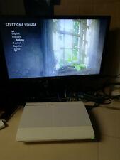 PS3 Super SLIM Sony Playstation 3 console Super SLIM PAL bianca