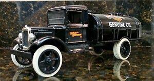 Harley-Davidson Collectible Die Cast Bank 1931 Hawkeye Tanker Bank Rare #2611