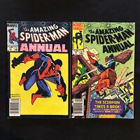 lot of 2 Amazing Spiderman Annual #17-18 marvel comics