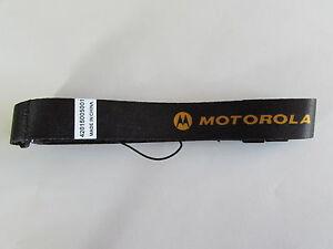 Umhängeband Original Motorola tlkr T80 Extreme gelbe Schrift