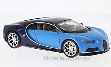 Bugatti Chiron 2016  hellblau/dunkelblau - 1:24 WELLY