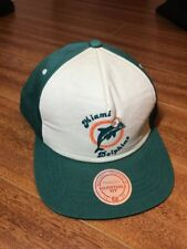 fee6d4ae4 Miami Dolphins Snapback Mitchell And Ness In Men's Hats for sale | eBay