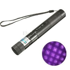 Adjustable Purple Laser Pointer Pen Beam Light With Star Cap Head 5mw