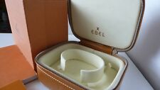 box in excellent condition Ebel leather luxury men's watch