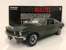 Steve Mcqueen Bullitt 1968 Ford MUSTANG Gt 1:24 Scala Greenlight
