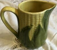 VINTAGE~ SHAWNEE CORN KING CREAM PITCHER ~ SHAWNEE USA 70~
