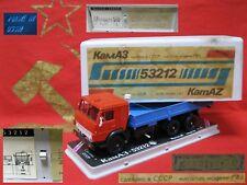 KAMAZ 53212 truck SOVIET CARS SCALE MODEL 1:43 RUSSIAN DIECAST USSR metal box