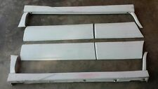 JDM 97-02 Subaru Forester STI SF5 Front Rear Door Molding Trim Panels Skirts OEM