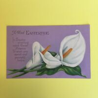 Eastertide Easter Greetings Unposted Postcard
