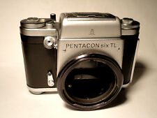 Modified Pentacon Six TL SLR Body- Bright Rollei Screen...TESTED - Top Condition