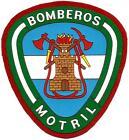 PARCHE BOMBEROS DE MOTRIL ANDALUCIA FIRE AND RESCUE DEPT POMPIERS EB00523