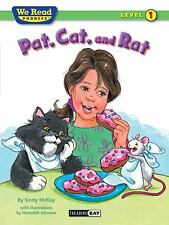 New listing We Read Phonics-Pat, Cat, and Rat by Sindy McKay (2010, Trade Paperback)
