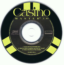 Casino Master 3.0 (PC, 1997, Centron Software, Interplay)