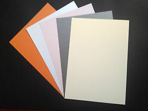 20 x A4 Pearlescent Shimmer Centura Pearl Card 260gsm, 5 Colours ~ Double Sided