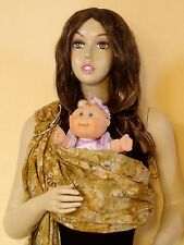 Tiger Sling Ring Baby Carrier Pouch Tan Tiedye Gender Neutral