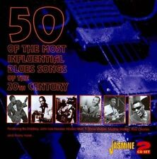 VARIOUS ARTISTS - 50 OF THE MOST INFLUENTIAL BLUES SONGS OF THE 20TH CENTURY (NE