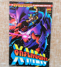 Comic, Onslaught X-Men, número único, Marvel Comics, Forum, Scott Lobdell, 1997