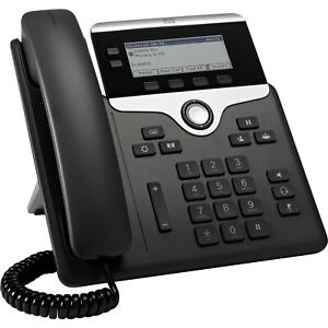 NEW Cisco CP-7821-K9 Full Duplex 2-line Unified IP Phone Business Office VOIP IP