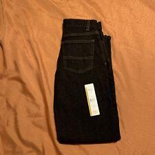 Wonder Nation Boy's Relaxed Fit Jeans Adjustable Waist Black 12'