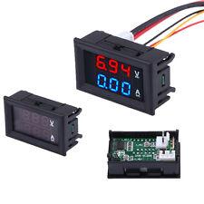 DC Dual Display 0-100V 0-10A Amp Voltage LED Meter With Current Transformer